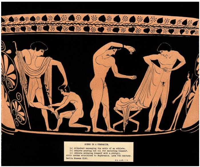 attic crater attributed to Euphronios (late 6th century BC) Berlin museum